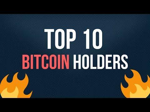 Top 10 Bitcoin Holders | इन के पास है सब से ज्यादा Bitcoins | आप के पास कितने Bitcoins है ?
