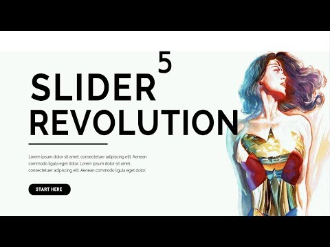 How To Use The Revolution Slider Plugin 5.4 - FULL TUTORIAL 2018