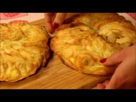 Recette de mes börek Turc à la pommes de terre, fromage et viande hachée/ Patatesli börek tarifi