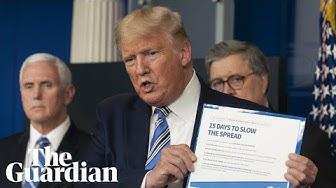 Donald Trump dismisses coronavirus as a 'purely medical problem'