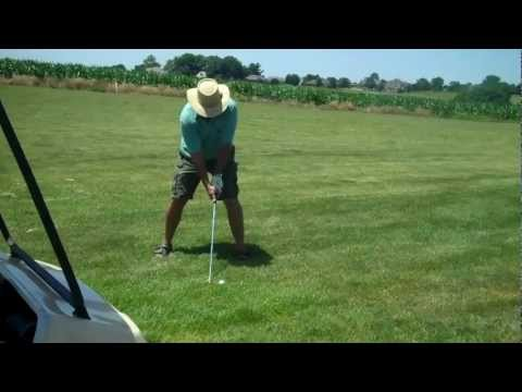 Golfing with Terry Cook at Stone Hedge Golf Club Marshall Missouri