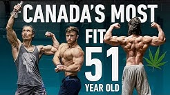 Marijuana & Gains With Canada's Fittest 51 Year Old (2000+ Pullups!) ft. Timbahwolf