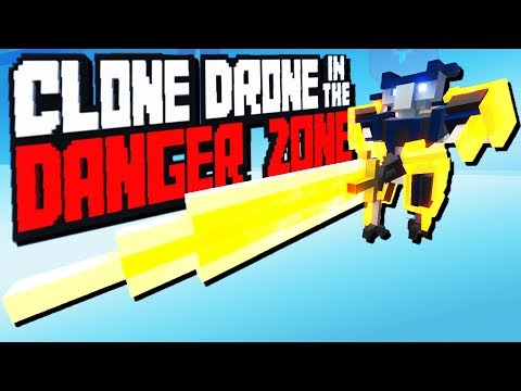 Crazy Greatsword Challenge! - Clone Drone in the Danger Zone Gameplay