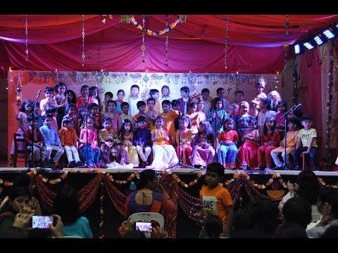 Diwali 2017 at Montessori For Children, Singapore, Broadrick Road campus