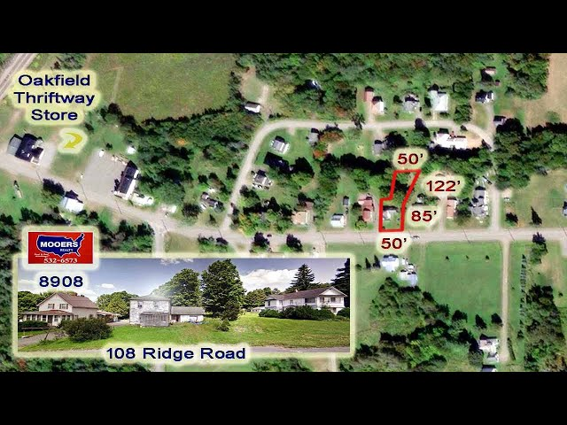 Cheap Homes For Sale Videos   108 Ridge RD Oakfield ME MOOERS REALTY #8908