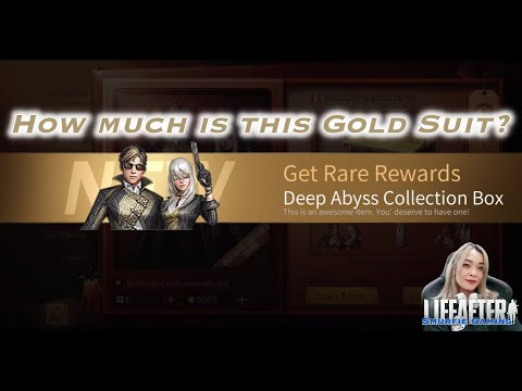 LifeAfter | Deep Abyss Collector Edition Outfit : $1000 ???