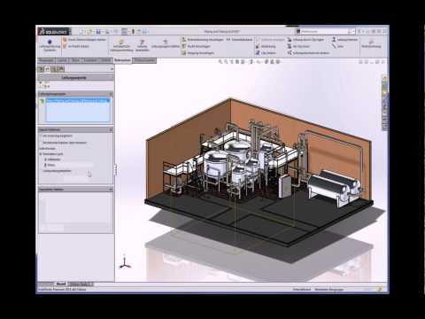 SolidWorks 2014 - Rohrleitungen, Schweiß- und Blechkonstruktionen