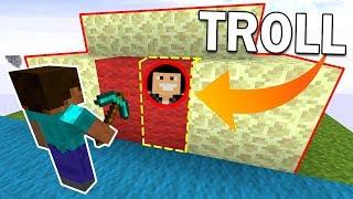 UN PIÈGE INVISIBLE DANS NOTRE BASE ?! | Minecraft Bed Wars Troll