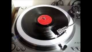 "B.B. ""Blues Boy"" King And His Orchestra - Dark Is The Night (Part 1) 78 RPM"
