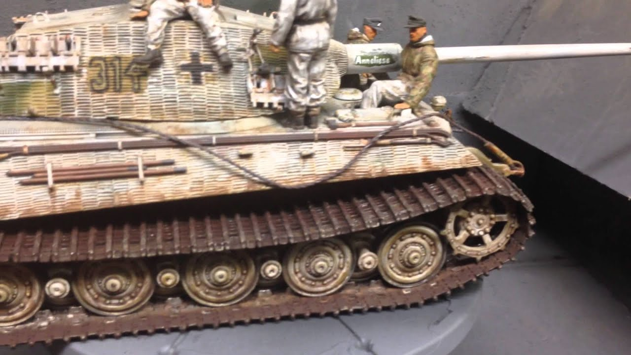 Sd Kfz 182 King Tiger P Anneliese Youtube