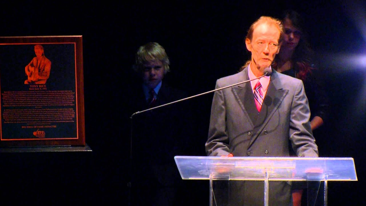 Tony Rice – IBMA Hall Of Fame Acceptance Speech