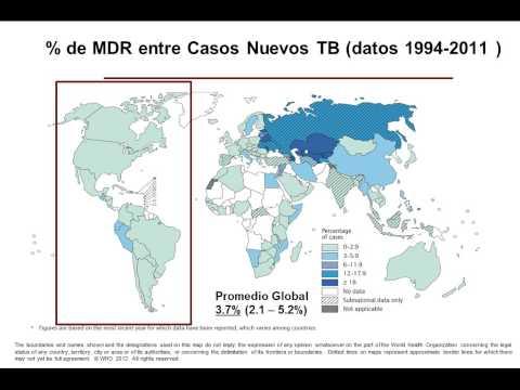 Dr. Jose Caminero. Situación y amenazas de la TB MDR. Presentado en 44o Congreso de THe Union