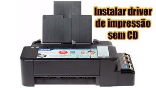 Como instalar impressora Epson sem CD de instalação para sublimação