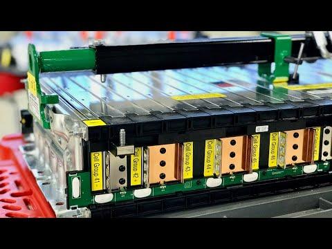 2017 Chevrolet Bolt EV Battery Reassembly