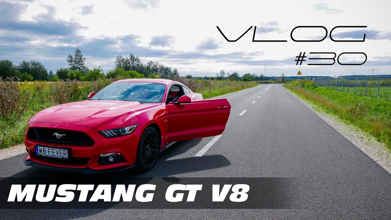 2017 Ford MUSTANG GT jako DAILY FAMILY CAR Serio? V8 Vlog #30 Test PL