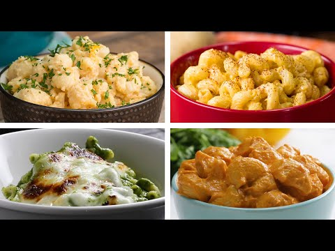 Healthier Mac 'N' Cheese 4 Ways