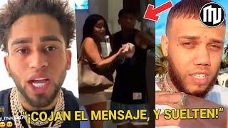 ¡Bryant Myers reacciona a el video de su pelea en hotel y Jhay Cortez de burla de el!