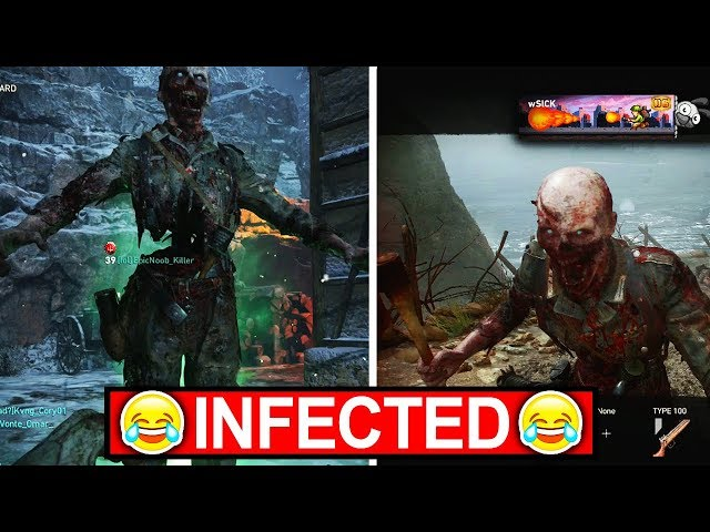 INFECTED IN COD WW2...