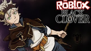 THE ROUGH BEGINNINGS OF A WIZARD! || Roblox Clover Online Episode 1 (Roblox Black Clover)