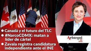#AristeguiEnVivo 12 de octubre: el futuro del TLC; mamá de ABC denuncia al IMSS y más…