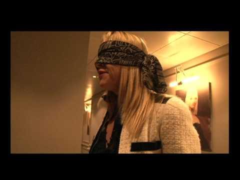 Danielle Henderson - The Blindfold Reader. Golden Square London - short version