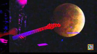 Blood Moon of Pisces, live performance Clive Wright