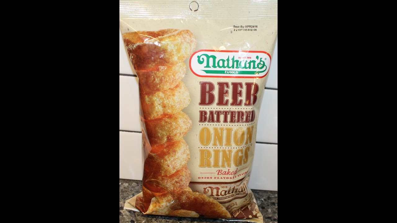 Nathan S Beer Battered Onion Rings Review