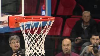 ABA Liga 2015/16 highlights: MZT Skopje Aerodrom - Crvena zvezda Telekom R09 (9.11.2015)