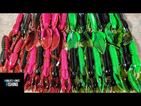 Color Matching ANOTHER BAITMAKERS Colors: Soft Plastic Lure Making Color Match Challenge