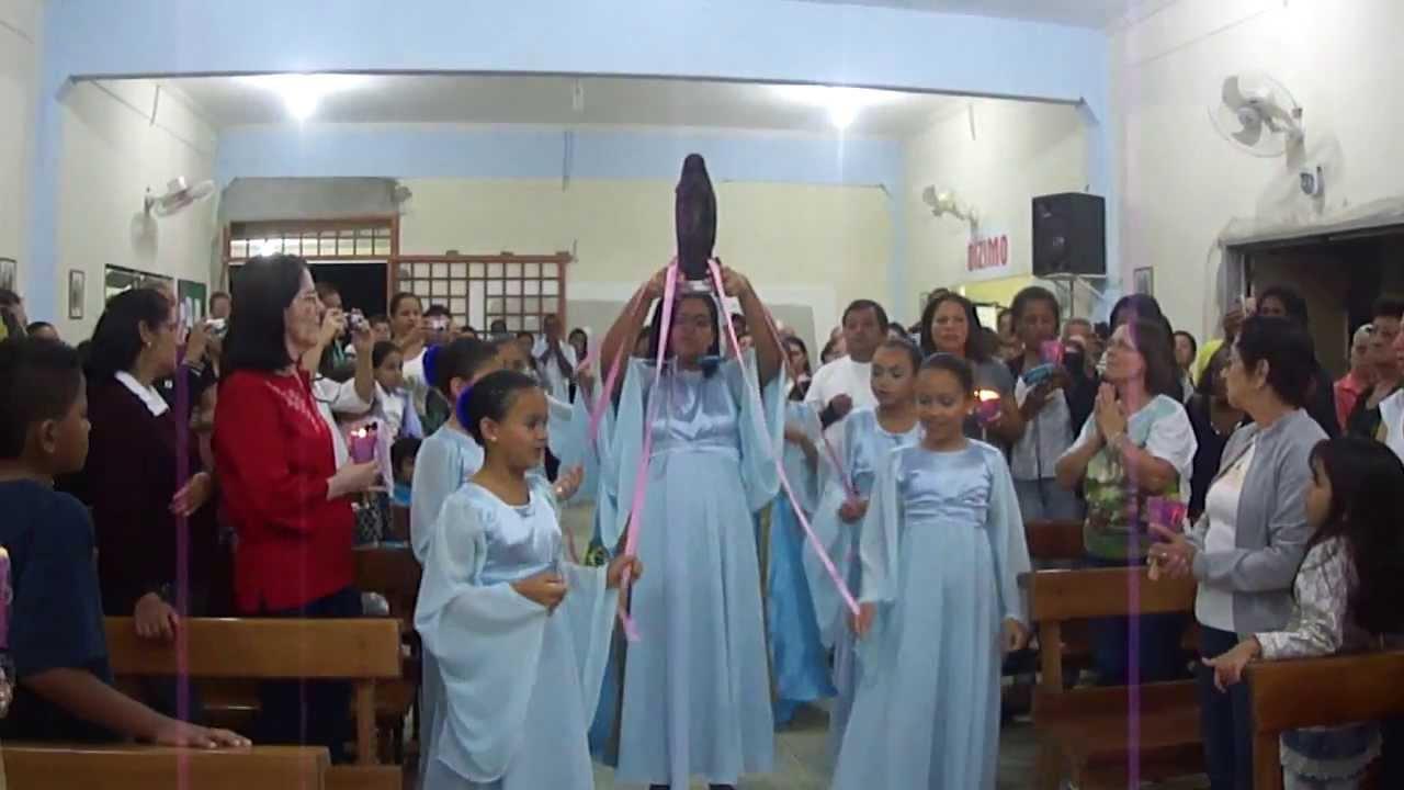 Nossa Senhora Aparecida Mãe Das Crianças: Entrada De Nossa Senhora Aparecida (crianças)