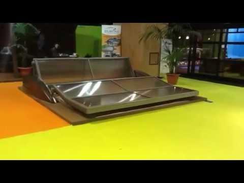 Abri de piscine atlantika palm a youtube for You tube abri de piscine