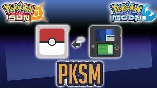 Mobile Pokegen + Pokebank | PKSM via 3DS Homebrew Tutorial, Demo, & Review