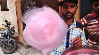 Road Side Cotton Candy Making | Haw...