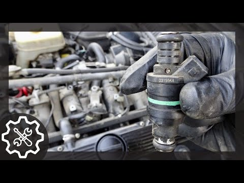 How to Replace Fuel Injectors On a Jaguar XJ40 XJ6
