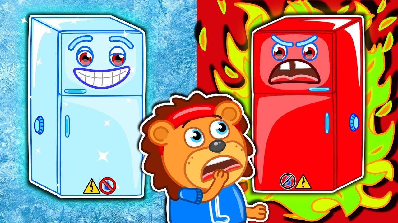 Lion Family на русском - Маша и Леопольд. Цветные мороженки - Мультик для детей