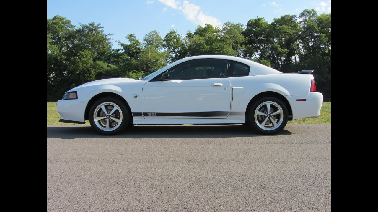 2004 ford mustang mach 1 4oth anniversary edition 305hp only 2825 miles call 888 439 8045