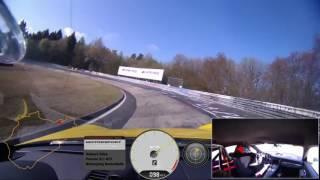 "Porsche 911 GT3 @ Nürburgring 7'12""70 (Full lap)"