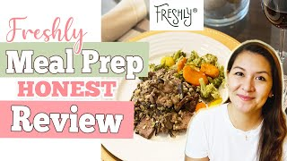 FRESHLY Meal Prep Review | Healthy ReadytoEat Meals | Body Reset 2020
