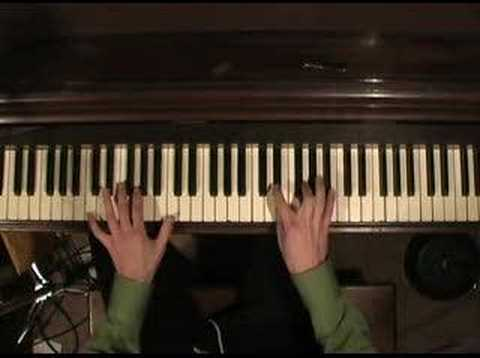 The Who - The Song is Over (piano)