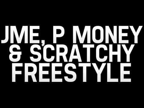 Jme, P Money and Scratchy Freestyle Part 1