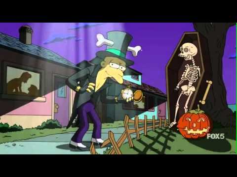 Grownup Halloween song The Simpsons