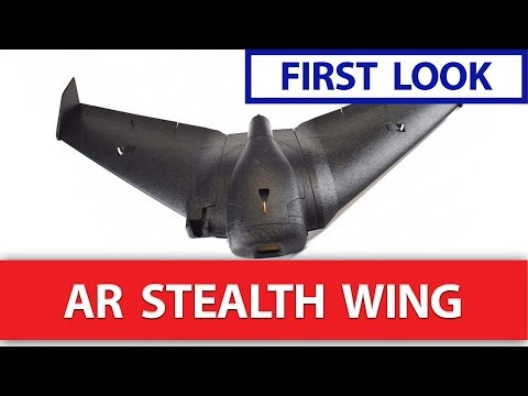 FIRST LOOK: AR Wing Stealth Edition - Better than the Reptile S800 FPV FlyingWing?