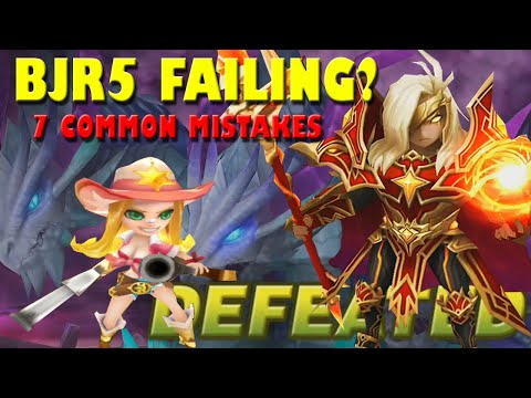 BJR5: TEAM BUILDING MISTAKES & HOW IT ACTUALLY WORKS : Summoners War