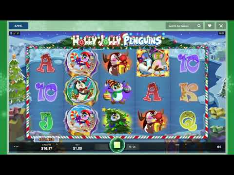 Spiele Holly Jolly Penguins - Video Slots Online