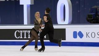 Мэдисон Хаббел Захари Донохью Ритм танец Танцы на льду Чемпионат мира по фигурному катанию 2021