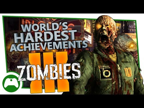 Call of Duty: Black Ops 3 - Zombies Chronicles - World's Hardest Achievements - Acted Alone