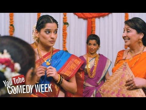 Acchit Gachhi - Comedy Scene | Time Please - Marathi Movie | Priya Bapat, Vandana Gupte