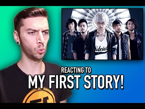 REACTING TO MY FIRST STORY!