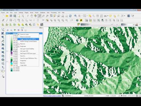 QGIS spatial analysis