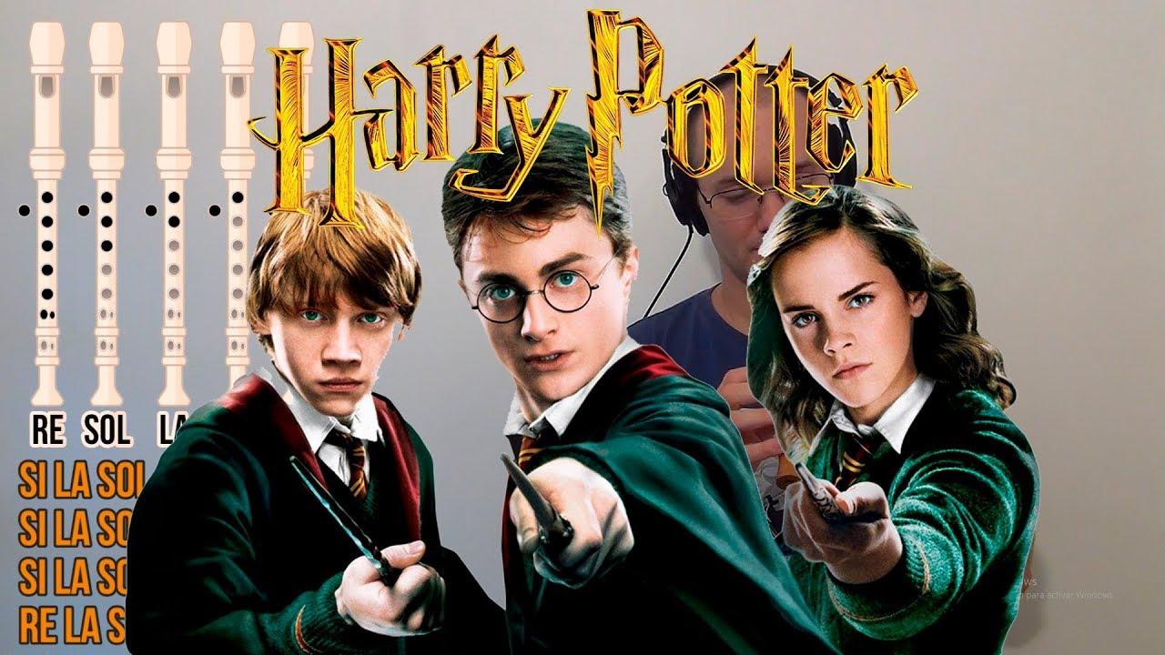 Harry Potter Para Flauta Dulce Cover Notas Youtube